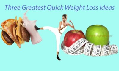 Prime three Greatest Quick Weight Loss Tips